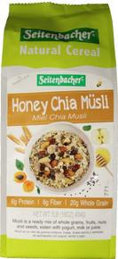 Seitenbacher, Muesli Natural High Fiber Honey and Chia (454g)