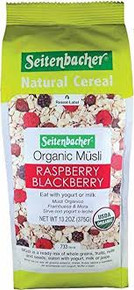 Seitenbacher, Muesli Organic Raspberry & Blackberry (454g)