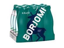 Borjomi, Mineral water (0,5 L /12 bottles)