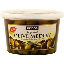 Krinos, Olive Medley marinated in brine (454g)