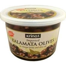 Krinos, Kalamata Olives marinated in brine (454g)