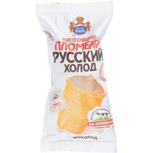 Русский холод, Chocolate Plombir in Waffle