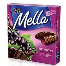 Goplana, Mella Black Currant Chocolate Jellies (190g)