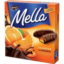 Goplana, Mella Orange Chocolate Jellies (190g)