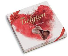Belgian Chocolate Hearts (20pcs) (200g)