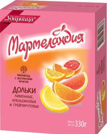 Assorted Marmalade Slices (orange, lemon, grapefruit) (330g)