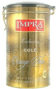 Impra, Black Tea Exclusive Ceylon Gold Orange Pekoe Big Leaf (250g)