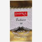 Impra, Gift Metal Jar, Gold Black Tea Orange Pekoe, Big Leaf (200g)