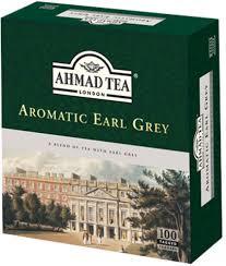 Ahmad, Earl Grey Black Tea (100 Tagged Tea Bags)