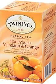 Twinings, Honeybush, Mandarin & Orange Herbal Tea (20 Tea Bags)
