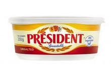President, Unsalted Doux Butter (250g)