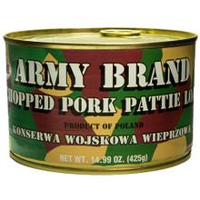 Army Brand,  Chopped Pork Pattie Loaf (425g)