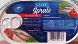 Vavel, Sprats In Tomato Sauce (170g)