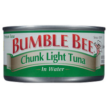 Bumble Bee, Chunk Light Tuna in Water (113g)