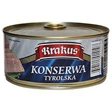 Krakus, Seasoned, Cured Minced Pork & Skin (10,5 Oz)