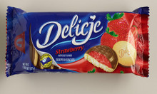 Delicje with Strawberry