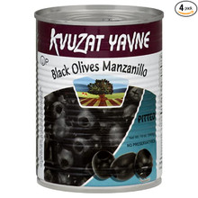 Kvuzat Yavne, Black Large Olives (540g)