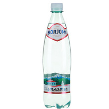 "Mineral Water Borjomi Plastic Bottles ""Pack of 6"""