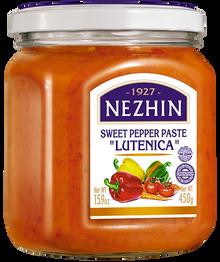 """Nezhin Sweet  Pepper Paste """"Lutenica"""" (450g)"""