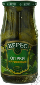 Veres Marinated Cucumbers (500g)