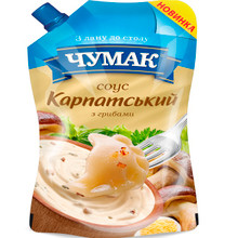 "Sauce ""Carpathian with Mushrooms"""