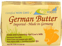 Allgau, Grass Fed German Butter (250g)