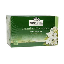 Ahmad Green Tea Jasmine Romance with Real Jasmine
