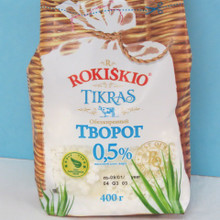 Rokiskio  Farmer Cheese 0.5% Fat