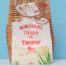 Rokiskio Farmer Cheese 9% fat