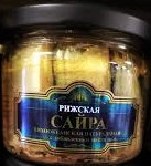 Riga Sprats, Natural Pacific Saury fish in Oil (250g)