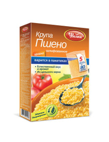 Uvelka, Millet in cooking bags (400g)