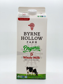 Organic Whole Milk by Byrne Hollow Farm, 0.5 Gal