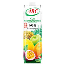 ABC Juice 100 % Multifruit 1 L