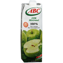 ABC Juice 100 % Apple 1 L