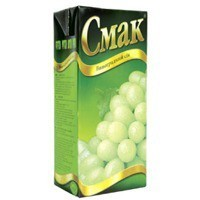 Cмак, Ukraine Grape Juice 1 L