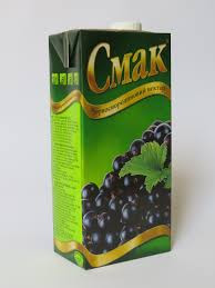 Cмак, Ukraine Black Currant Nectar 1 L