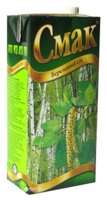 Cмак, Ukraine Birch Juice1 L