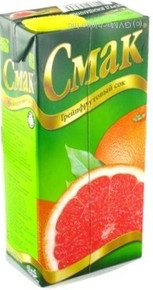 Cмак, Ukraine Grapefruit Juice1 L