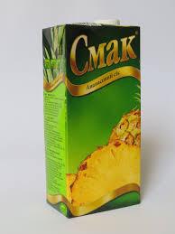 Cмак, Ukraine Pineapple Juice1 L
