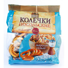"Sushki ""Колечки Посольские"" With Sea Salt"