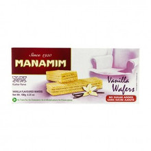 Vanilla  Flavoured Wafers by Manamim, Israel
