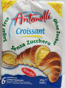Croissants with Custard Cream Filling by Antonelli