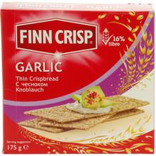 Finn Crisp Garlic Thin Rye Crispbread