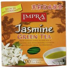 Impra, Jasmine Green Tea (100 Tea Bags)