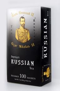 Czar Nicholas II, Russian Premium Tea (100 Tea Bags)