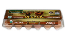 Organic Large Brown Free-Range Eggs by Nature's Yoke Eggs
