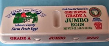 Grade A Jumbo Eggs by Shady Lane Farms