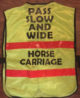 CARRIAGE DRIVERS' SAFETY VEST