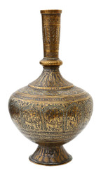 Early 20th Century Eastern brass vase