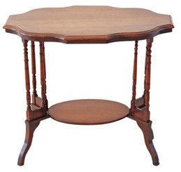 Victorian walnut side centre table